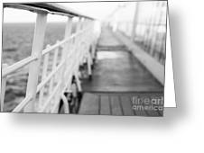Railings Greeting Card by Anne Gilbert