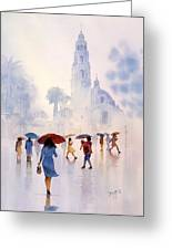 Rain Drops Greeting Card by John YATO