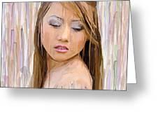 Rain Of Color Greeting Card by Robert Wheater