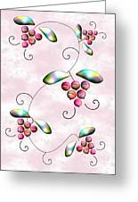Rainbow Berries Greeting Card by Anastasiya Malakhova