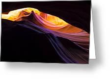 Rainbow Canyon Greeting Card by Chad Dutson