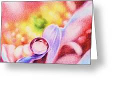 Rainbow Greeting Card by Natasha Denger