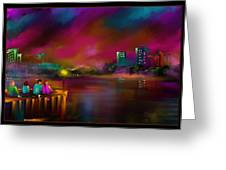 Rainbow Sky - Scratch Art Series - #58 Greeting Card by Steven Lebron Langston