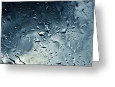 Raindrops Greeting Card by Fabrizio Troiani