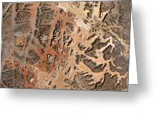 Ram Desert Transjordanian Plateau Jordan Greeting Card by Anonymous