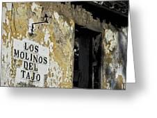 Ramshackled Los Molinos Greeting Card by Heiko Koehrer-Wagner