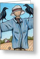 Ravens -- Like They Think This Will Work... Lol Greeting Card by Sherry Goeben