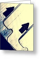 Razor Blades Greeting Card by Bob Orsillo