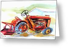 Ready For Work  Greeting Card by Kip DeVore