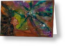 Recapturing Her Soul Greeting Card by Ilisa  Millermoon