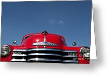 Red Chevrolet 3100 1953 Pickup Greeting Card by Tim Gainey