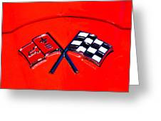 Red Corvette Greeting Card by Phil 'motography' Clark