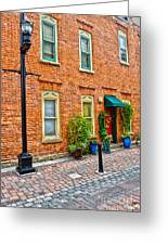 Red Door 3 Greeting Card by Baywest Imaging