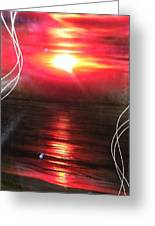 'red Earth' Greeting Card by Christian Chapman Art