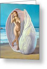 Red-haired Venus Greeting Card by Paul Krapf