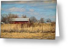 Red Kentucky Relic Greeting Card by Paulette B Wright