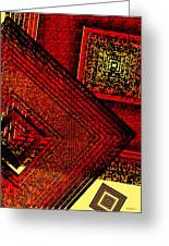 Red Over Yellow Greeting Card by Mario  Perez