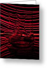 Red Rhythm IIi Greeting Card by Davorin Mance