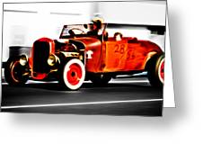 Red Riding Rod Greeting Card by Phil 'motography' Clark