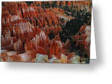 RED ROCK Greeting Card by Jeff  Swan