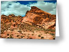 Red Sandstone Greeting Card by Robert Bales
