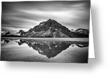 Reflecting Bow Greeting Card by Jon Glaser