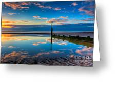 Reflections Greeting Card by Adrian Evans