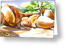 Reflections At Elephant Rocks B Greeting Card by Kip DeVore