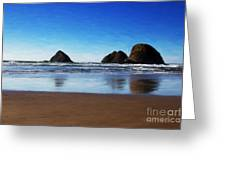 Reflections Greeting Card by Jon Burch Photography