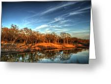 Reflections Greeting Card by Kimberly Danner