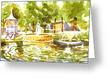 Reflections Greeting Card by Kip DeVore