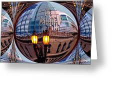Reflections Greeting Card by Nick David