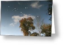Reflective Thoughts Greeting Card by Neal  Eslinger