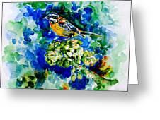 Reina Mora Greeting Card by Zaira Dzhaubaeva
