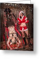 Reindeer Slay Greeting Card by Steven Walker