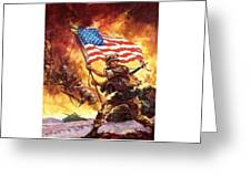 Remember Our Veterans Greeting Card by M and L Creations