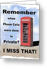 Remember When . . . Greeting Card by Mike McGlothlen