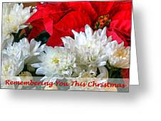 Remembering You This Christmas Greeting Card by Dawn Currie
