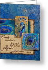 Renewal Greeting Card by Chris Brandley  Charice Cooper   Jane Metz
