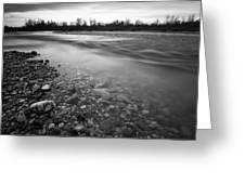 Restless river Greeting Card by Davorin Mance