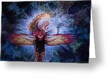 Resurrection Greeting Card by Lianne Schneider