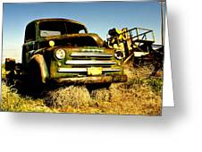 Retired Greeting Card by Aron Kearney Fine Art Photography