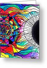 Return To Source Greeting Card by Teal Eye  Print Store