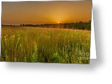 Retzer Sunset Greeting Card by Andrew Slater