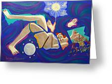 Revelation Chapter 12-1 Greeting Card by Anthony Falbo