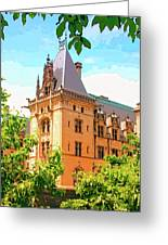 Revival Biltmore Asheville Nc Greeting Card by William Dey