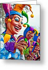 Rex Mardi Gras Parade Xi Greeting Card by Steve Harrington
