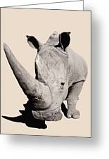 Rhinocerosafrica Greeting Card by Thomas Kitchin & Victoria Hurst