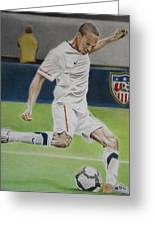 Ricardo Clark Usmnt Greeting Card by Brian Broadway