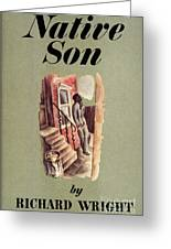 Richard Wright: Native Son Greeting Card by Granger